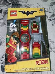Lego The Batman Movie Robin Buildable Link Watch  #8020868