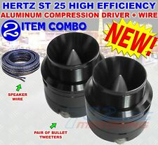 HERTZ ST 25 HIGH EFFICIENCY ALUMINUM COMPRESSION DRIVER DIAPHRAGM LOUDSPEAKER
