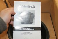 New Shamrock 6.5 Qt Stainless Steel Nonstick Pressure Cooker w/ Voice Command