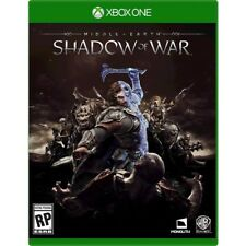 MIDDLE-EARTH: SHADOW OF WAR  (XBOX ONE) - NEW - RELEASE DAY DELIVERY!