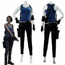 Resident Evil 3 Remake Jill Valentine Cosplay Costume Uniform Outfit Full Set