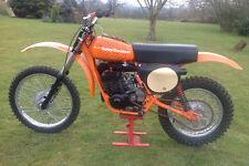 1978 HARLEY DAVIDSON MX250 VINTAGE MOTORCYCLE POSTER PRINT 24x36 HI RES