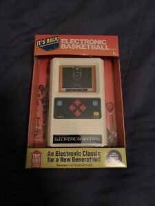 Basketball Handheld Electronic Game 70s Retro Mattel Classic Sounds Lights NEW