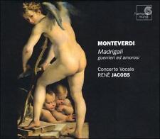 Monteverdi: Madrigali guerrieri ed amorosi, 2 Discs, Rene Jacobs, Concerto Vocal