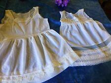 lot anciens vétements nylon    poupée40-50cm des années 50-60,bella ,gégé ,