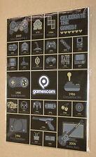 Gamescom Video Gaming History Magnet Set Playstation Nintendo 64 Sega Dreamcast