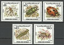 Syrie Syria Syrien Insectes Coccinelle Guepe Wasp Ladybug Kafer Insekten ** 1982