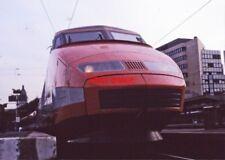 PHOTO  TGV PARIS LYON 1987