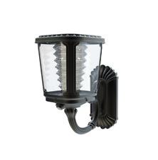 Lampada applique da Parete a Energia Solare Luce Calda lampione esterno giardino