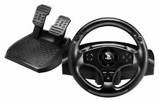 Playstation 4 3 Steering Wheel Controller Driving Pedals Racing Video Game PS4