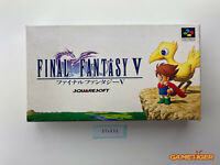 FINAL FANTASY V 5 Nintendo Super Famicom SFC JAPAN Ref:314633