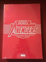 AVENGERS GEORGE PEREZ Artist Select HARDCOVER HC Signed Numbered IDW New Sealed