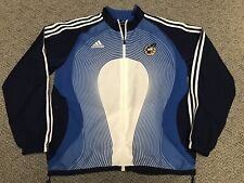 2006 2008 Spain Adidas Jacket Warm Up Training Blue White M Medium World Cup