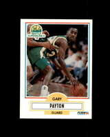 Gary Payton Rookie Card 1990-91 Fleer Update #U92 Seattle Supersonics