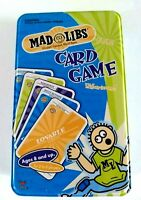 Mad Libs Card Game 2-6 Players Ages 8+ New by Cardinal