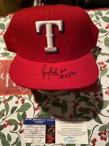 Juan Gonzalez Signed Texas Rangers Hat