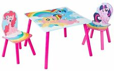 My Little Pony Sitzgruppe Tisch Einhorn Kindermöbel Kindersitzgruppe Garnitur