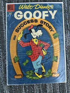 Four Color #702 Goofy Success Story (Dell 1956) Silver Age Disney Comic