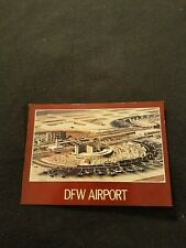 Dallas Fort Worth Airport 2 AmFac Hotels in the Center - Old Postcard Unused