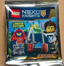 LEGO SET NINJAGO POLYBAG FIGURINE MINIFIG CHEVALIER NEXO KNIGHTS CLAY C L A Y