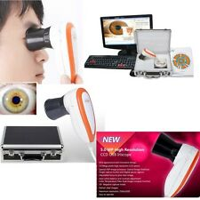 5.0 MP USB Iriscope Iris Analyzer Iridology camera w pro Iris Software Eye Check