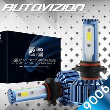 2017 Cree LED Headlight Kit 9006 HB4 9012 388W 6000K 38800LM Bulbs Pair HID