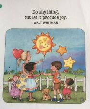 Mary Engelbreit Handmade Magnet-Do Anything But Let It Produce Joy