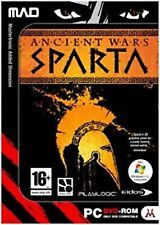 Ancient Wars Sparta PC Dvd Rom Historical Computer Game Conquer The World