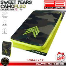 "Giallo Sweet Years Custodia Camouflage Fluo per Tablet 9""/10"" CE (j6w)"
