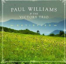 Paul Williams, Paul Williams & the Victory Trio - Satisfied [New CD]
