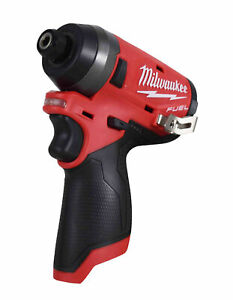 "Milwaukee 2553-20 12-Volt M12 FUEL 1/4"" Hex Impact Driver (Tool Only)"