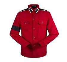 Michael Jackson CTE Armband Epaulet Shirt Adults Kids Cosplay Costume Long Shirt