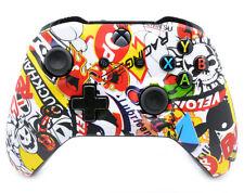 """Soft Sticker Bomb"" Xbox One S Custom Un-Modded Wireless Microsoft Controller"