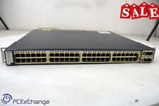 Cisco Catalyst 3750-E Series Ws-C3750E-48Pd-Sf V05 48-Port PoE Switch