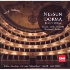 NESSUN DORMA Best Of Opera CD NEW Puccini Verdi Donizetti Beethoven Delibes