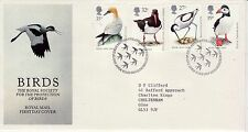 Birds Fancy Cancel Used Great Britain Stamps