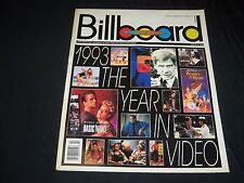 1994 JANUARY 8 BILLBOARD MAGAZINE - THE YEAR IN VIDEO 100 MUSIC ISSUE - O 7255