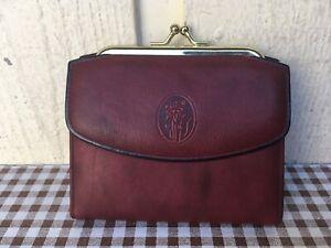 Buxton top grain cowhide women's leather wallet. Brown