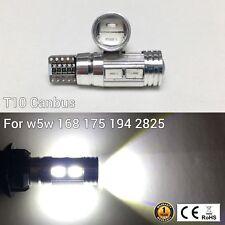 T10 194 168 2825 12961 3rd Brake Light 6K White 10 Canbus LED M1 For Chevrolet