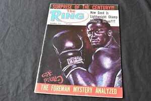 Vintage The Ring Boxing Magazine November 1972 Edition, 99p Start