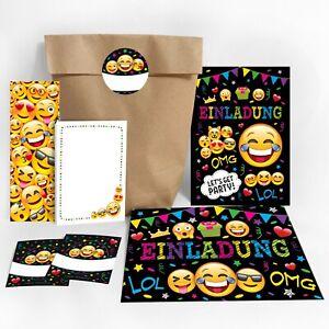 Einladungskarten Kindergeburtstag Umschläge Geschenktüten Gastgeschenke