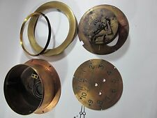 Early WW2 Maritime Commission Ship's Bell Clock Chelsea SHIPWRECK ser no 2730