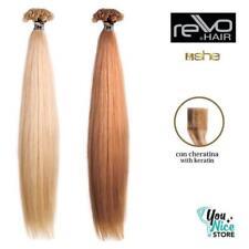 Extension She Rewo Line 10 ciocche 55-60cm Cheratina capelli veri lisci naturali
