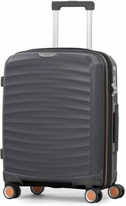 Rock Sunwave 54cm Carry on Expandable Hard Shell Suitcase  8 wheel TR-0212-CH S