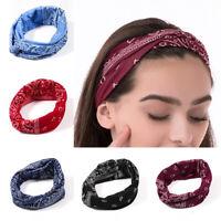 1PC Headwear Women's Hair Wrap Twisted Headband Print Headwrap Sports Yoga