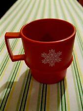 Vintage Tupperware Coffee Mug Christmas