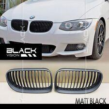 Matte Black Front Mesh Grille for BMW 3 series E92 E93 LCI Facelift 2010-2013
