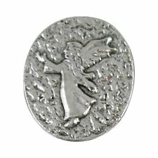 24 - Guardian Angel Protect Us Pocket Coin Stones Pewter - Pack of 24