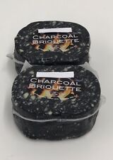 Charcoal Cheddar Cheese 2 X 220g Charcoal Briquette X 2 ,Not Black Bomber Cheese