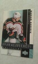 2001-02 UD Premier Collection 63/399 Marian Gaborik Card 29  Very Nice Set